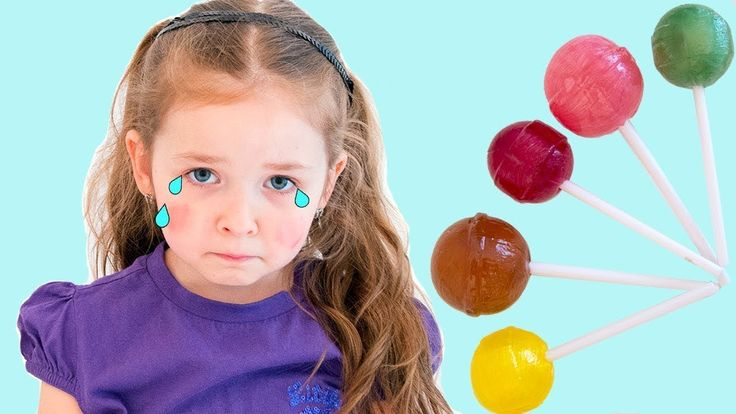 Bad Baby Crying Learn Colors With Tantrum and Crying for Candy Nursery R...