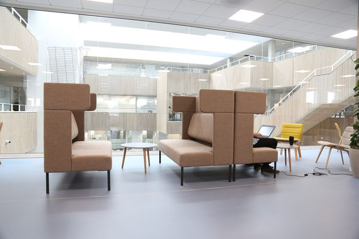 Projects we love: LILLEBAELT ACADEMY - Four Design - The team behind the project has included the students and incorporated learning and socializing in so many fantastic and new ways, and that's why Lillebaelt Academy is one of the Projects We Love.
