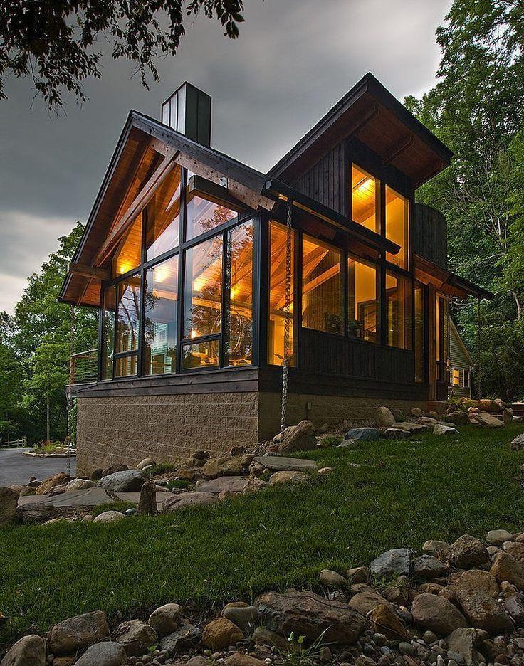 casas maravilhosas de madeira - Pesquisa Google