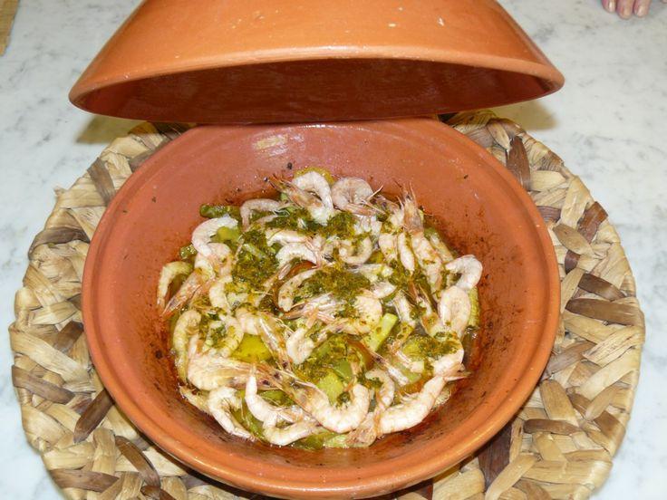 Dal Marocco la #ricetta del Tajine con gamberi e verdure!