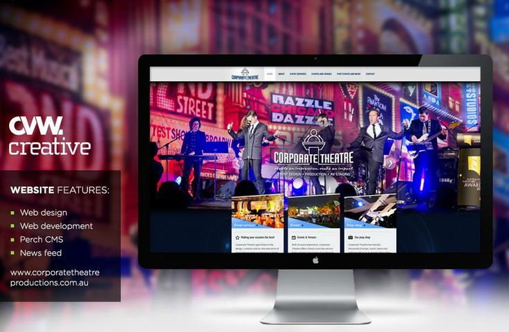 Check out Corporate Theatre's sparkling, new website! www.corporatetheatreproductions.com.au