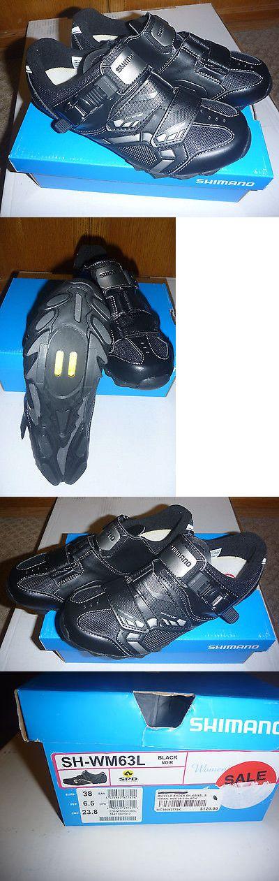 Women 158987: Shimano Womens Mountain Bike Shoe Sh-Wm63 Black Size 38/ 6.5 -> BUY IT NOW ONLY: $50 on eBay!