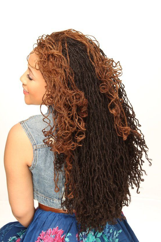 Dread Locs and Sister Locs Hairstyles For Black Women 3