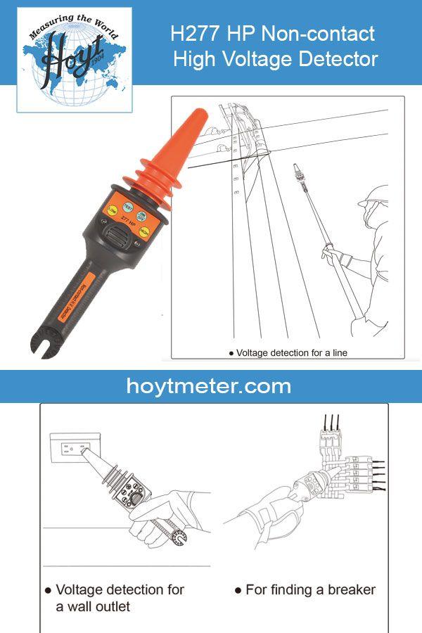 H277 Hp Non Contact High Voltage Detector High Voltage Ideal