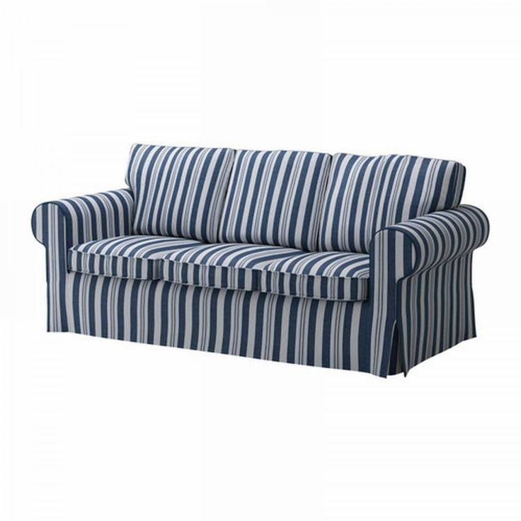 Blue Striped Sofa Covers