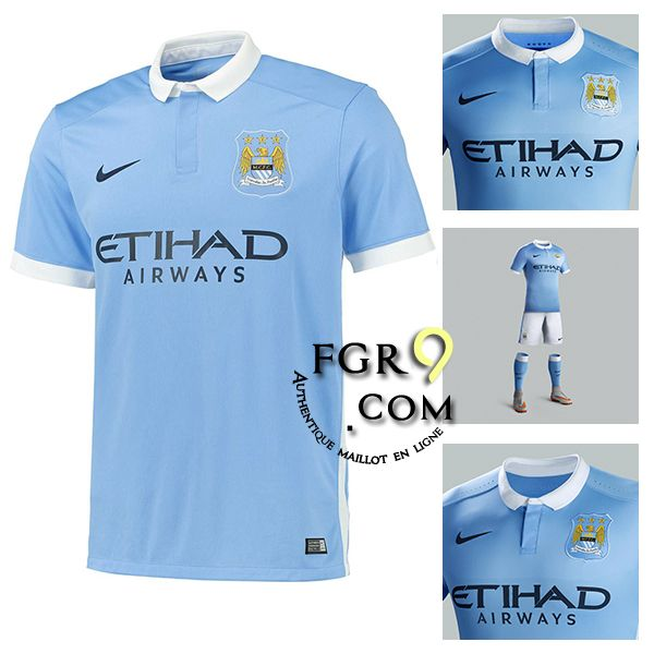 tenue de football pas cher boutique manchester city maillot foot 2015 2016 domicile pas chere. Black Bedroom Furniture Sets. Home Design Ideas