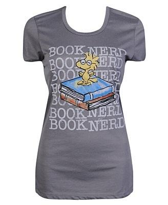 Cute book nerd shirt.