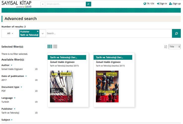 Tarih ve Teknoloji Dergisi, Sayısal Kitap veri tabanında! Dergimizi okumak için: tarihveteknolojidergisi.com