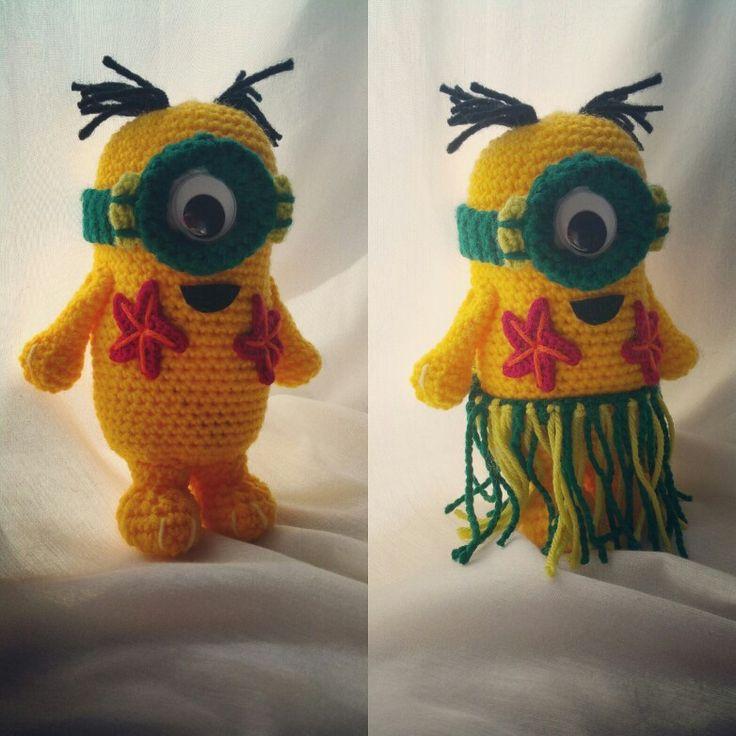 Norbert Minion Crochet Amigurumi