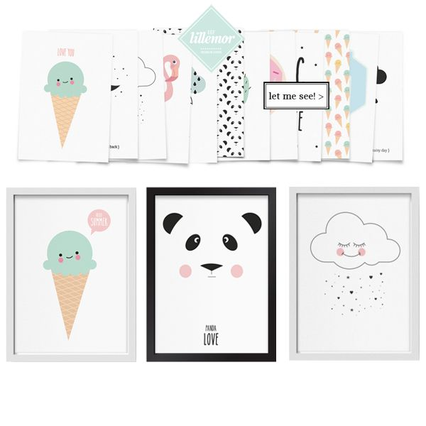 new arrival, discover these wonderfull graphics by Eef Lillemor. OOooooh Yes we love!