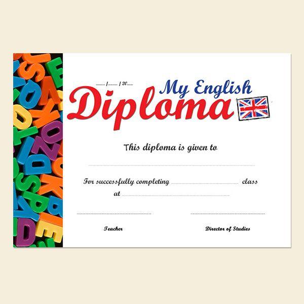 My english diploma 2