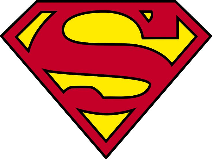 The Superman shield, also known as the Superman logo, is the iconic emblem for the fictional DC Comics superhero Superman. Description from imgarcade.com. I searched for this on bing.com/images