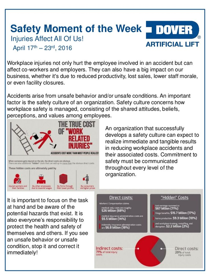 Dover ALS Safety Moment of the Week 17Apr2016