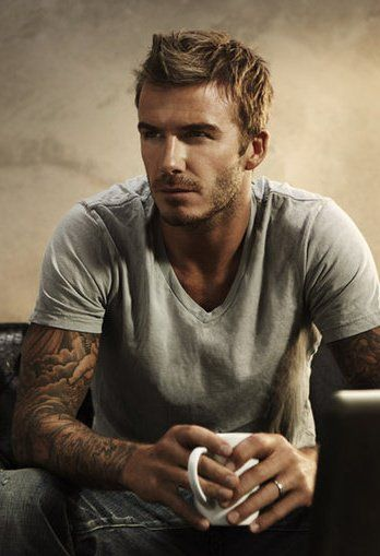 #David Beckham DavidBeckham Sexy Handsome Fine Obsession Tatted Beautiful Athlete Soccer Player