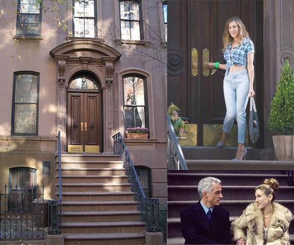 carrie bradshaw 39 s apartment address 66 perry street. Black Bedroom Furniture Sets. Home Design Ideas