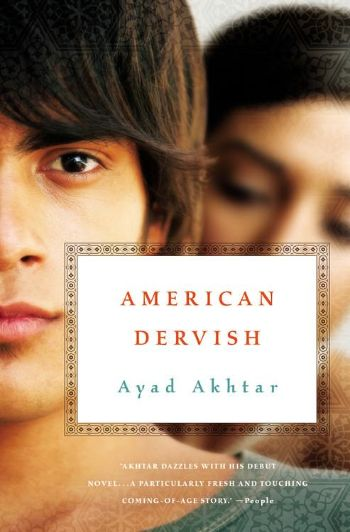 A review of Ayad Akthar's American Dervish, a novel featuring a Muslim American growing up in modern America. Written by a librarian at http://abooklongenough.com