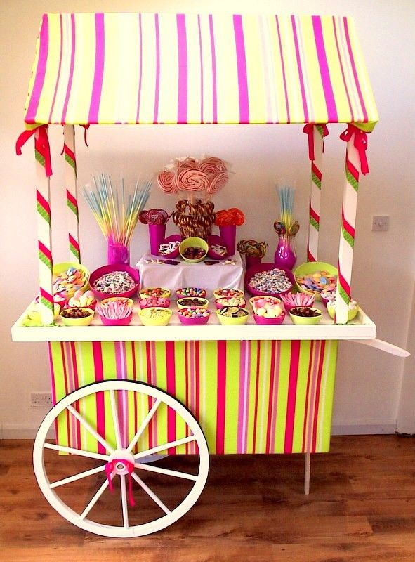 Aurelia Chair Cover Hire   Candy Cart, Love This Candy Stripe.