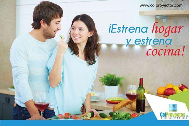 ¿Te imaginas preparar una cena especial a esa persona en tu casa nueva? Mas información al 5755151 - 5754900 - 3182543315 http://bit.ly/colproyectos
