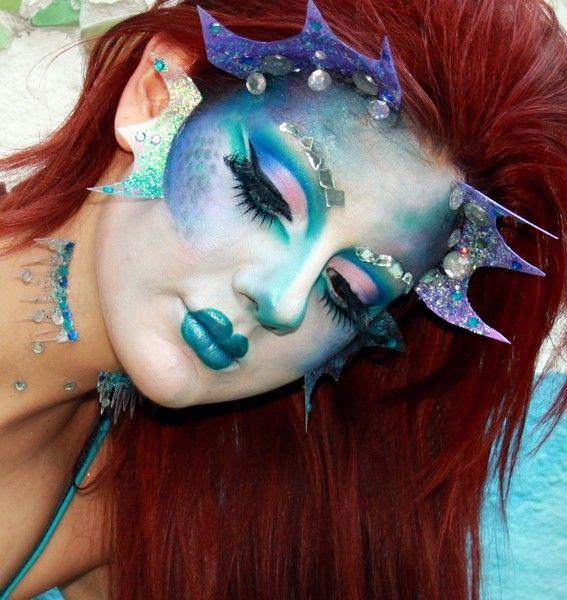 Mermaid Makeup http://www.makeupbee.com/look.php?look_id=61895