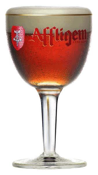 TRY IT! AFFLIGEM ROUGE  6,7% birra d'abbazia tipo belga Affligem Rouge è una birra ambrata dal gusto maltato leggermente dolce grazie all'utilizzo di un malto caramellato. Ha una schiuma fine e compatta, persistente sopra per proteggere la birra dall'ossidazione.  Le Affligem sono fra le più antiche birre d'abbazia prodotte ancora oggi nel più profondo rispetto della tradizione di monaci, sulla base dell'originale ricetta trascritta nel 1074.