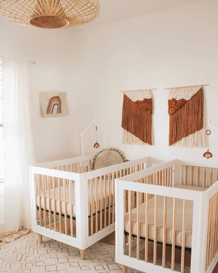 Bohemian Nursery Interior Design With A Neutral Color Palette