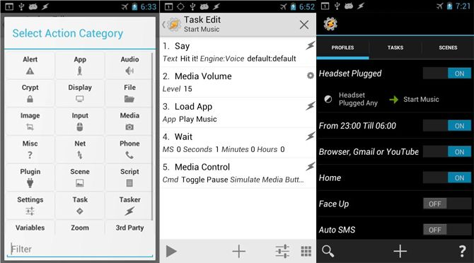 Tasker app for Android How to Automate Your Android