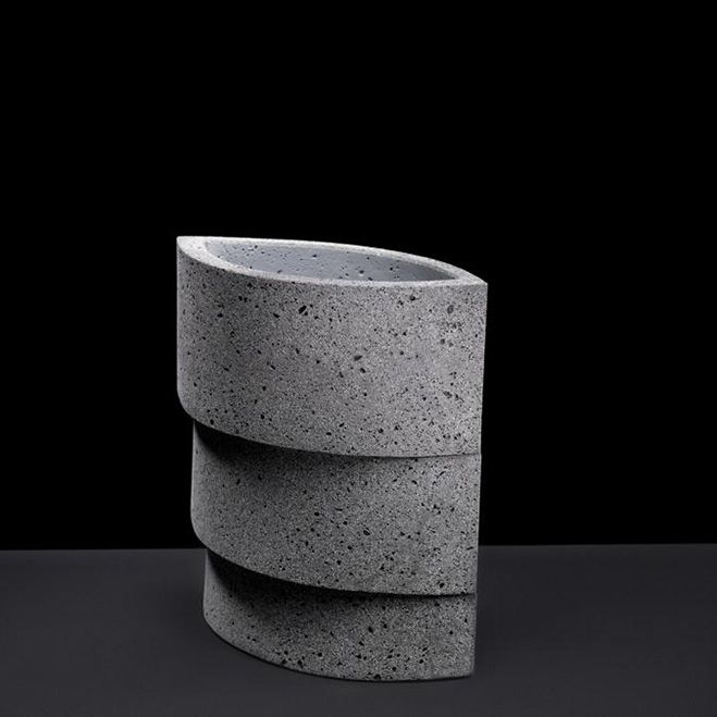 Cumulation, Cone & Counterpoint Series – Ceramic Sculptures by Wim Borst | OEN
