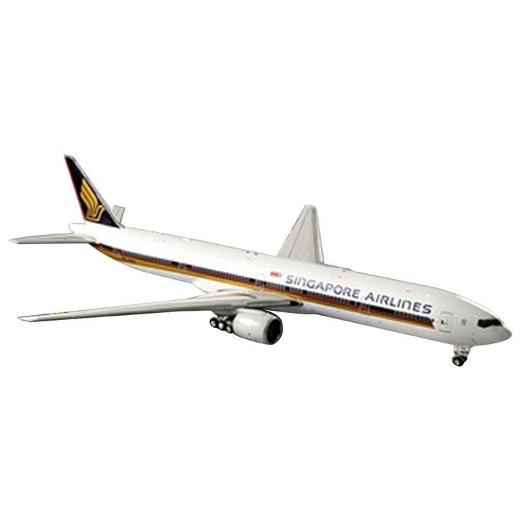 Phoenix diecast pesawat Singapore Airlines Boeing 777-300 - 18 cm 490rb