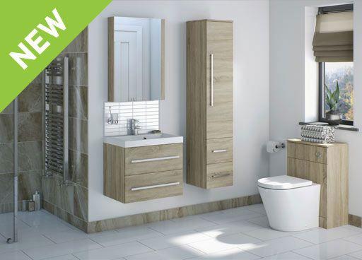Drift Sawn Oak Bathroom Furniture : Victoria Plumb