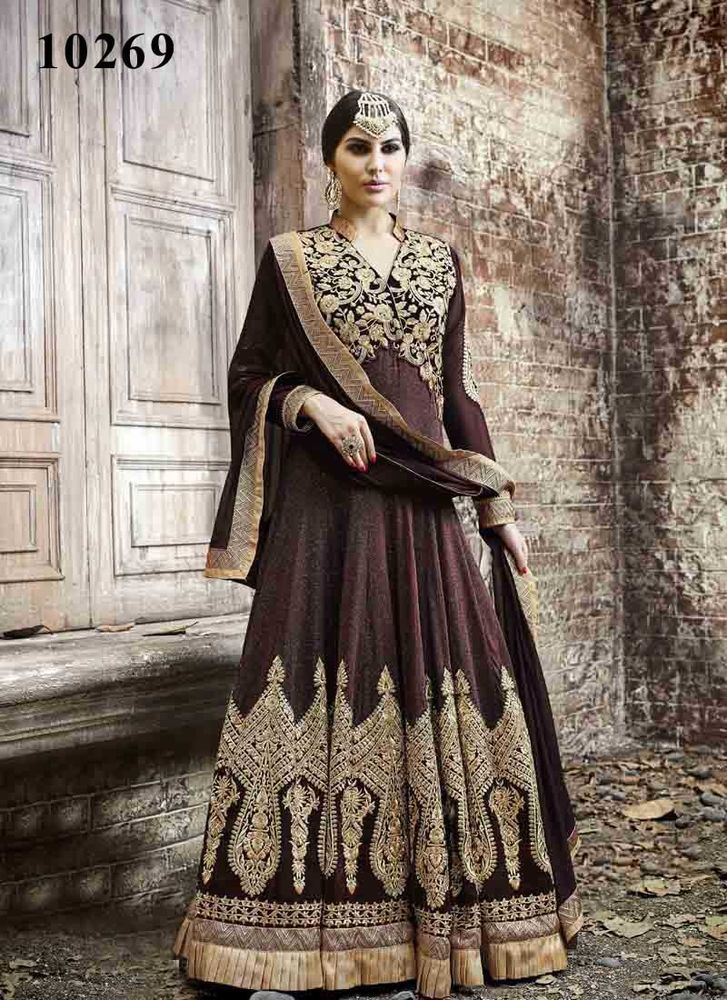 Ethnic Pakistani Kameez Bollywood Indian Salwar Anarkali Suit Dress Designer…