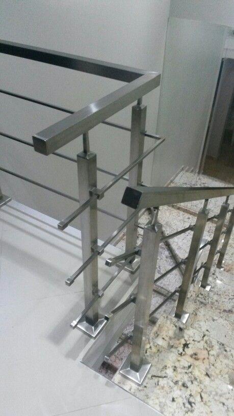 M s de 25 ideas fant sticas sobre barandas de acero for Barandas de acero