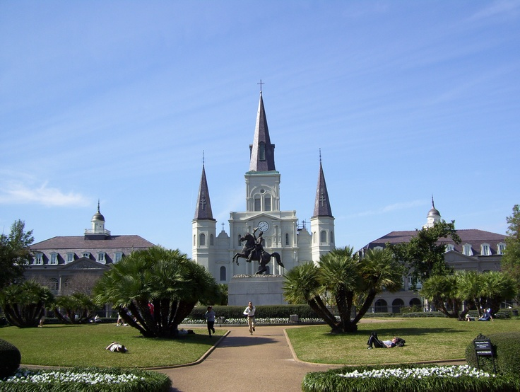 New Orleans - 1st time saw this place I was 8, would love to go back.