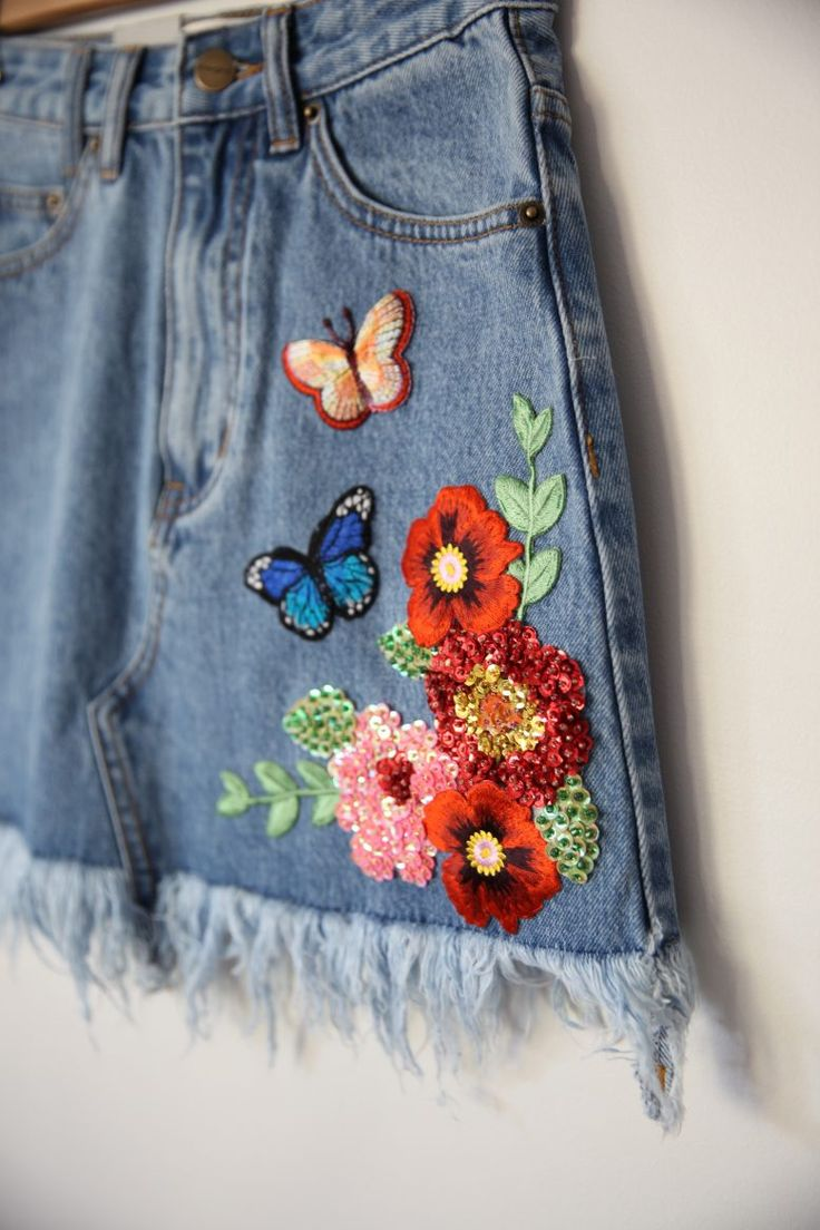 A Pair & A Spare | How to: Sequin Embellished Denim with Hatrik Vintage