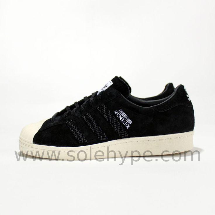 ADIDAS NH SHELLTOE X NEIGHBORHOOD SZ 11 BLACK BONE SHELL TOE M25785 in  Clothing, Shoes & Accessories, Men's Shoes, Athletic | eBay | Nu Shooz.
