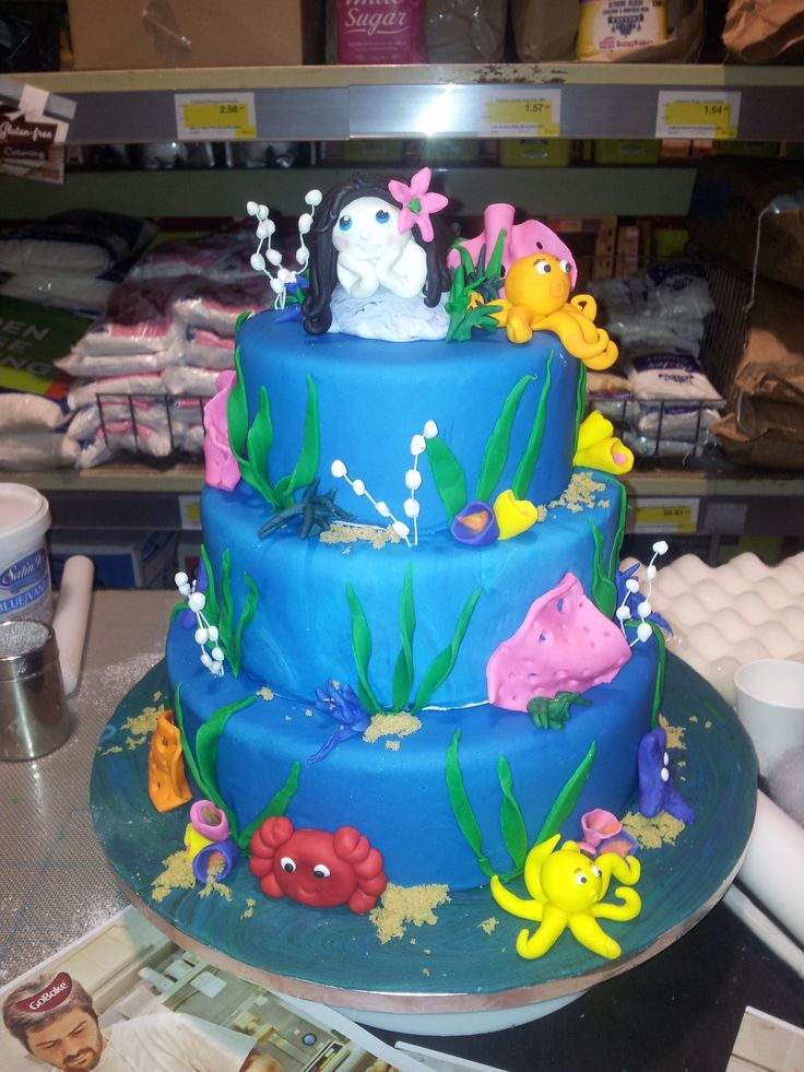 Under the Sea Cake made for a Trade Show