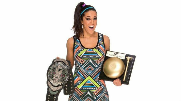 Pamela Rose Martinez goes by Bayley in WWE which she is NXT Women's Champion