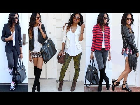 BACK TO SCHOOL OUTFITS 2014! (College/ University) - YouTube