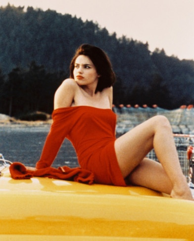 Beatrice Dalle in Jean-Jacques Beineix's Betty Blue (37.2 Le Matin), 1986.