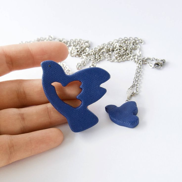 Excited to share the latest addition to my #etsy shop: Mother daughter, Doves necklace, Mothers Day, Gift for mom, From daughter to mom, Mommy and me, From son to mother, Mother and son, Birthday http://etsy.me/2CtJWhb #jewelry #blue #brass #girls #no #pendant #floral