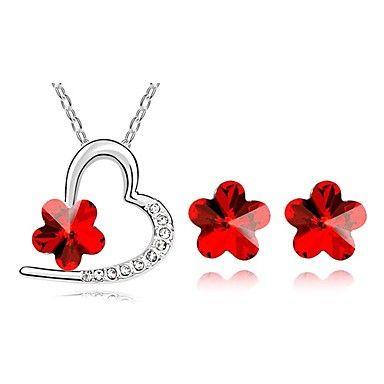 cercei si colier cu floricele rosii http://www.bijuteriifrumoase.ro/cumpara/cercei-si-colier-fabiana-61