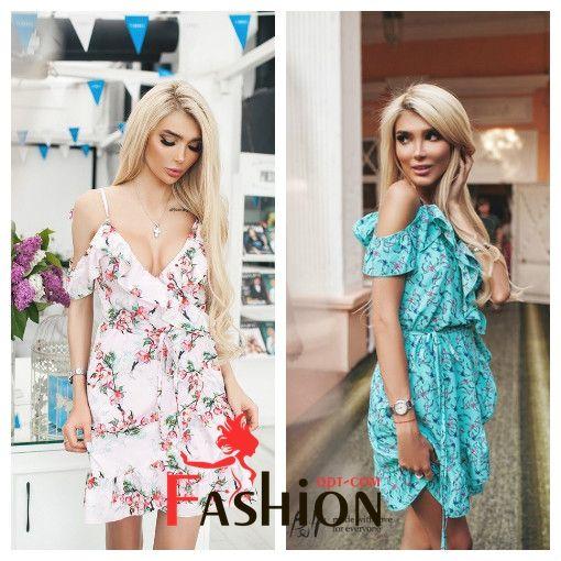 🌷1️⃣3️⃣0️⃣9️⃣руб🌷 Платье рюша с принтом ласточки TM B&H №0146 Размер: XS; M; L Производитель: Secret Ткань: Софт Цвета: розовые цветы, красные цветы, белые ласточки, розовые ласточки, бирюзовые ласточки.