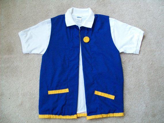 5 pc POKeMON Ash Ketchum Costume Medium by StellaKlinkerCostume