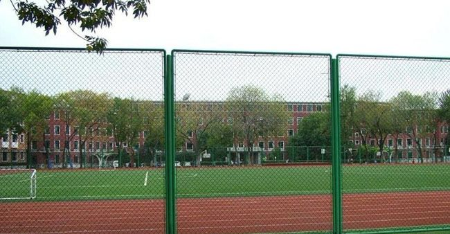 Playground Fence has below features:     •Convenient installation     •Durable in use under extremely strong weather.     •Corrosion resistance, anti-rust.     •Self-cleaning function is strong, maintenance free for 10 years.     •Surface Treatment: Hot-dipped galvanized, Electro-galvanized, PVC coated.