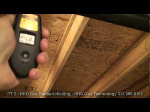 Part 1 of 6 HHO Gas Radiant Heating 2010. - YouTube