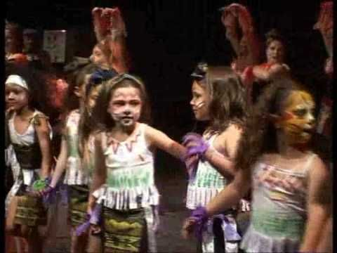 danse africaine enfants (pata pata) - YouTube