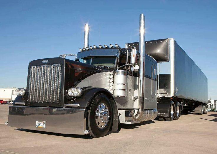 Very clean Peterbilt TruckPorn Trucking Peterbilt Big