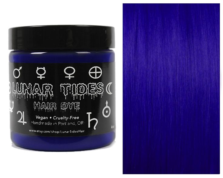 #dark #blue #hair #dye #color #lunar #tides #velvet #royal #buy #vegan