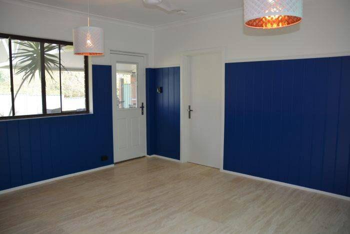 Home Renovations WA | Easycraft | Easycraft. Easyregency paneling and a bit of dark blue can work wonders