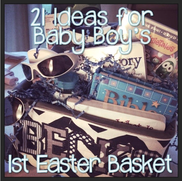 #TeacherMom: 21 Ideas for Baby Boy's First Easter Basket
