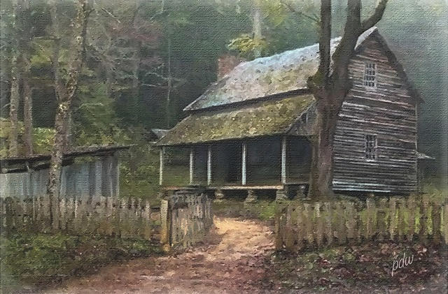 The Tipton Place in Cade's Cove